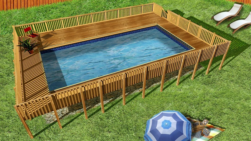 Semi Inground Pools 888 89 POOLS