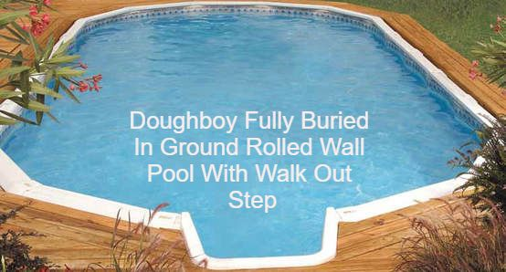 in ground doughboy pool