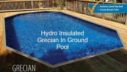 in ground grecian pool