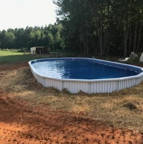 Aquasport 52 Pool Installed in raleigh NC