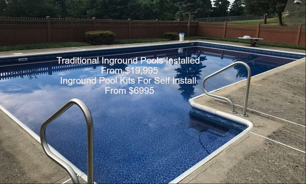in ground rectangle pool/ in ground l shape pool